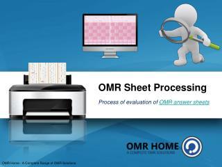 OMR Sheet Processing