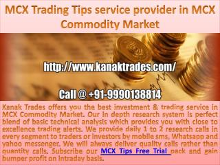 Gold Trading Tips Free Trial | Silver Trading Tips Free Trial