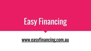 Quick And Easy Finance Loans