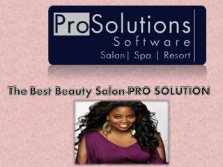 The Best Beauty Salon-PRO SOLUTION