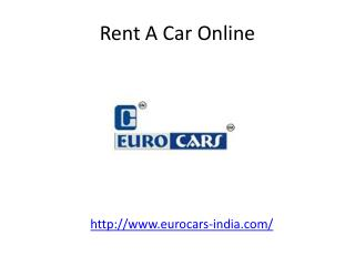 Rent A Car Online - Euro Cars India