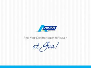 Find your dream house in heaven at goa