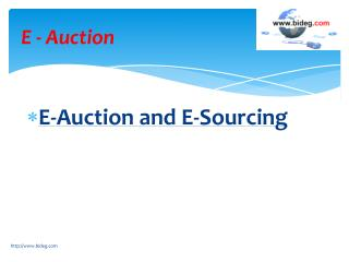 E-Auction Software