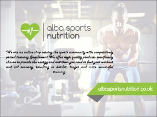 Online Sportsnutrition supplements