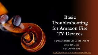 Amazon fire tv support