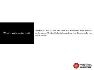 Important Sections in Google Webmaster Tools