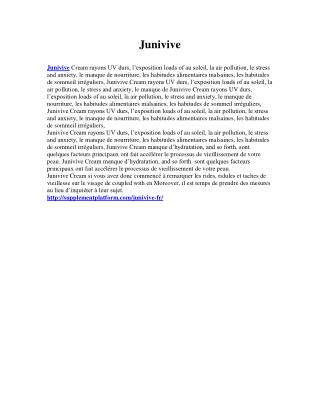 http://supplementplatform.com/junivive-fr/