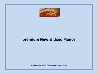 A440 Pianos-premium New & Used Pianos