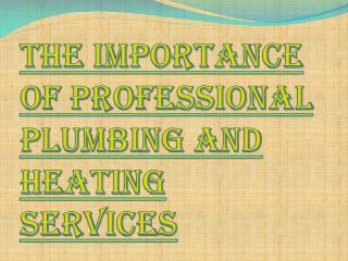 Surrey's Best Plumbing and Heating Services