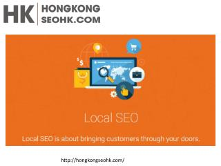Local SEO Services Hong Kong