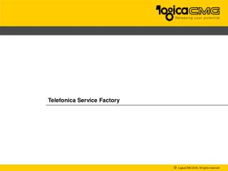 Telefonica Service Factory