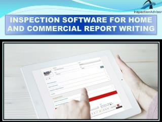 Home Inspection Software