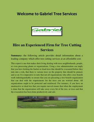 Tree cutting in Los Angeles, Landscape Design Los Angeles.pdf