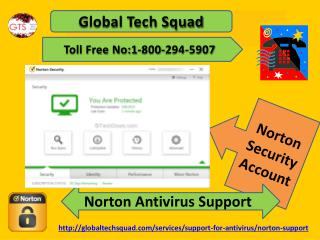 How to solve(Support) Norton Antivirus Security Account problem