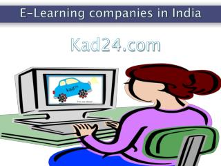 E Learning Companies in India