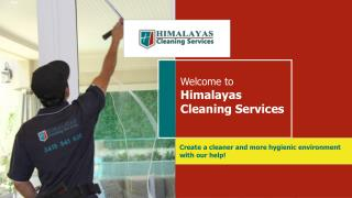 Professional Pressure Cleaning in Melbourne by Himalayas Cleaning Services