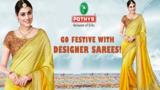Buy Designer Sarees Online at Pothys!