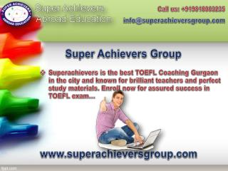 Superachievers Provides Best Coaching for SAT Training in Gurgaon