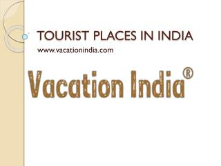 Get India vacation deals in affordable price.