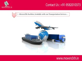 Movers5th Transportation Service of Office Shifting & Relocation