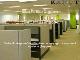 Office Partition Singapore | Office Furniture Singapore