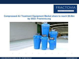 Compressed Air Treatment Equipment Market in North America to hit over $3bn by 2022