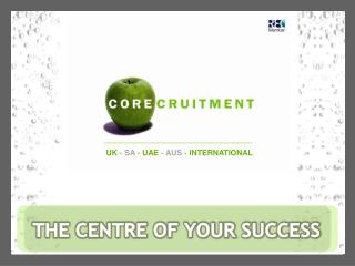 THE CENTRE OF YOUR SUCCESS
