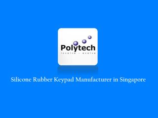 Silicone Rubber Keypad Manufacturer