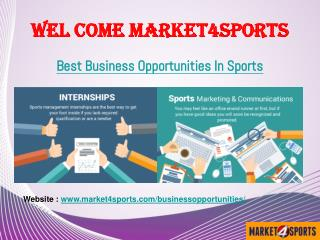 Latest updates News - Sports Business News India | Market4sports