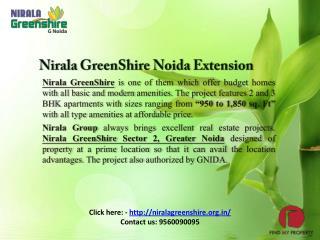 Nirala Green Shire Noida Extension