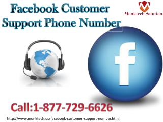 Waiting for your call Facebook Customer Support Phone Number1-877-729-6626