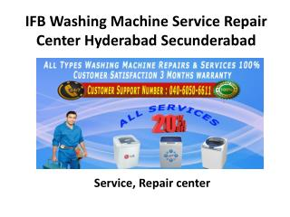 IFB Washing Machine Service Repair Center in Hyderabad Secunderabad
