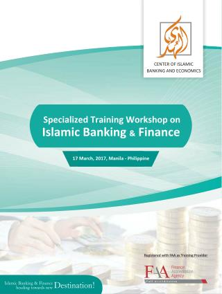 Islamic Banking & Finance Training Workshop at Philippine