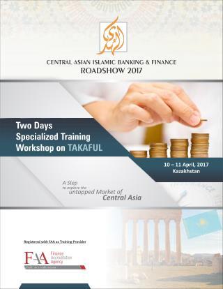 AlHuda CIBE-Two days Specialized Training Workshop on TAKAFUL (Kazakhstan)