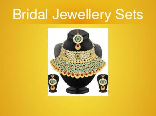 Bridal Jewellery Sets Available For Your Wedding