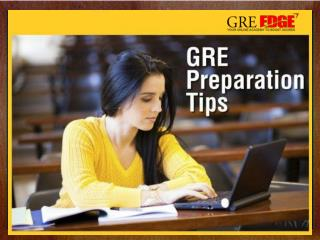GRE Preparation Online