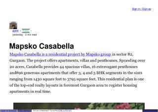 Mapsko Casabella Floors