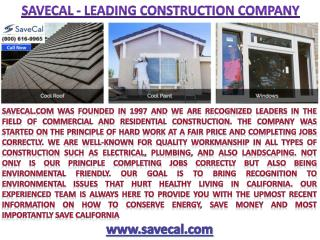Savecal.com @ 800- 616-9965 Call Now !