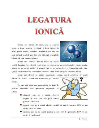 LEGATURA IONICA SI COVALENTA