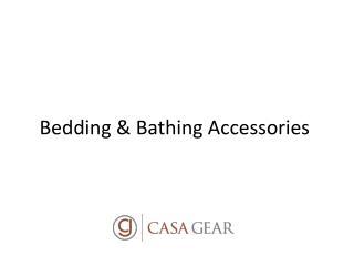 Bedding & Quilting at Casagear