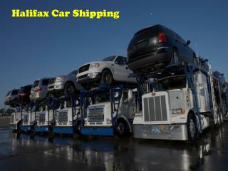 Car Shipping Halifax