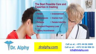 Which is the Best gynecologist dubai