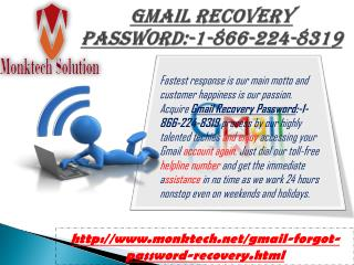 Ring Gmail Recovery password:-1-866-224-8319 for Premium Aid