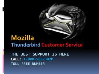 Thunderbird email application help