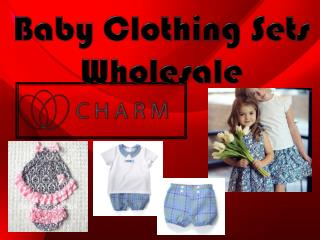 Baby Clothing Sets Wholesale