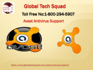 Support For Avast Antivirus Toll Free 1-800-294-5907