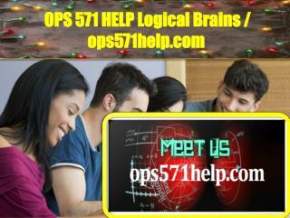 OPS 571 HELP Logical Brains / ops571help.com
