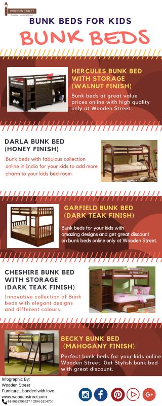 Buy bunk beds online at great value prices