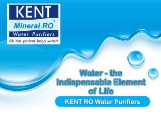 Water – the Indispensable Element of Life
