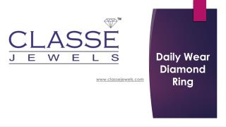 Buy Diamond Rings Online only at Classejewels